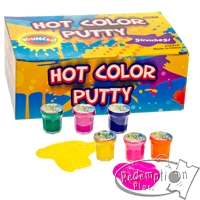Redemption Plus - Hot Color Putty 1.25in Asmt